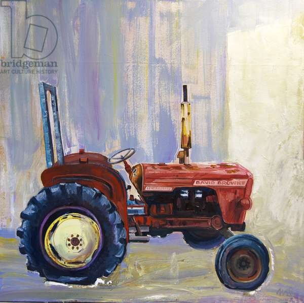 Retired Tractor, 2020 (oil on canvas)