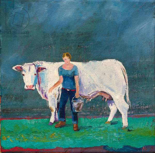 American Friend, 2019 (oil on canvas)