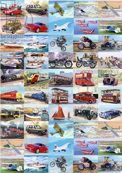 Transport, 2012 (oil on panel)