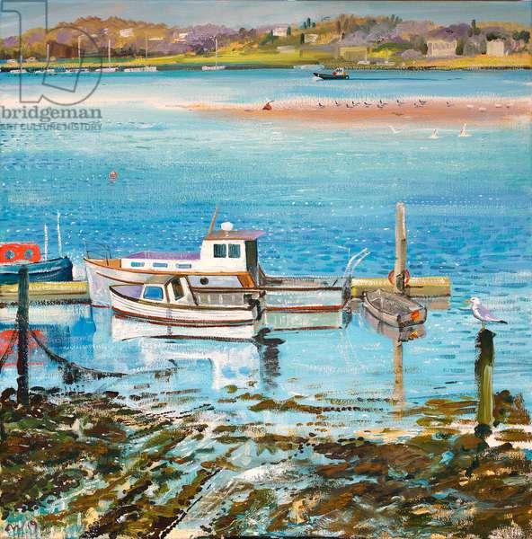 Returning Fisherman, 2019 (oil on canvas)