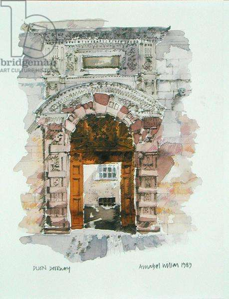 Dijon Doorway, 1989 (w/c on paper)