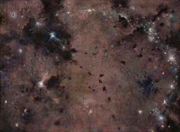 Celestial I, 2007-10 (acrylic on canvas)