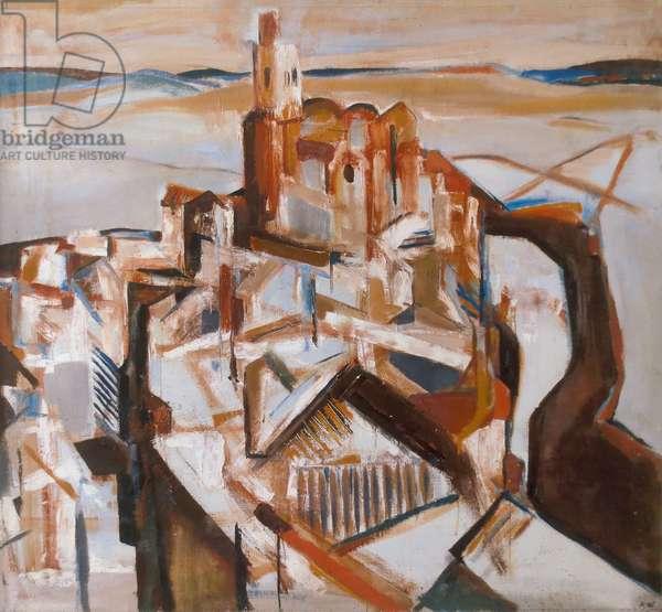 Arcos De La Frontera, 1961 (oil on canvas)