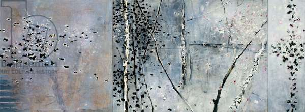 Aspen Triptych, 1990-2000 (acrylic on canvas)