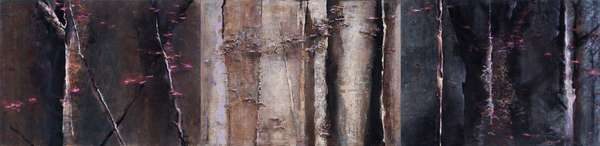 Forest VI, 1982-99 (acrylic on canvas)
