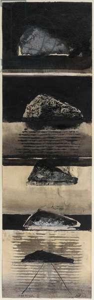 Gibraltar In Mind II, 1978 (work on paper framed)