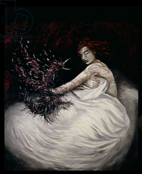Conflicts of the Psyche: The Struggle Between Ambition and Desire 2, 1984 (oil on canvas)