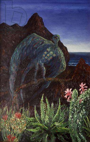 Landscapes of the Heart (tropical), 1986 (oil on canvas)