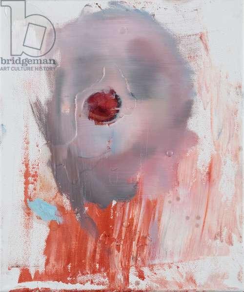 Sex Face, 2011 (oil & resin on canvas)