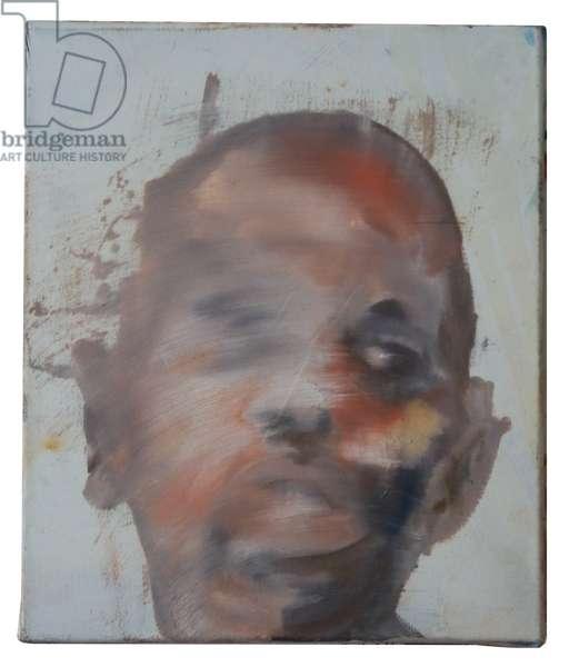 Self-Portrait, 2014 (oil on linen)