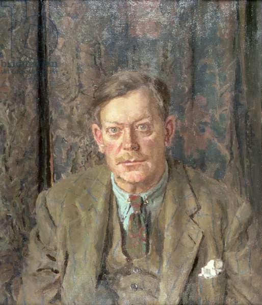 Portrait of Sir Edmund Bacon, Bt. (1903-82), 1964 (oil on canvas)