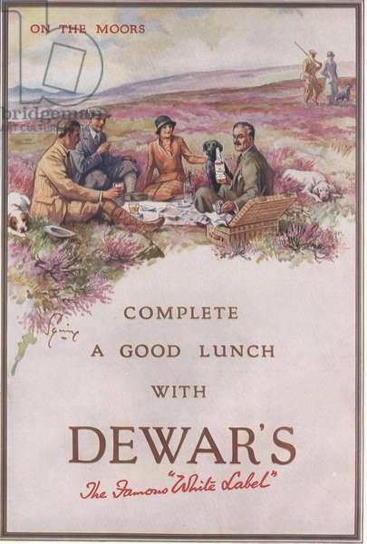 Dewar's Magazine, advert, UK, 1930s