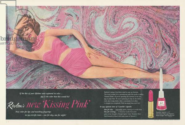 Revlon Magazine, advert, USA, 1950s