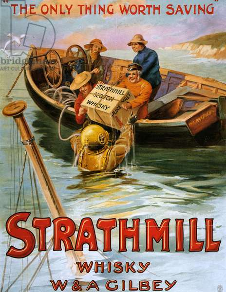 Strathmill Poster, UK, 1900s