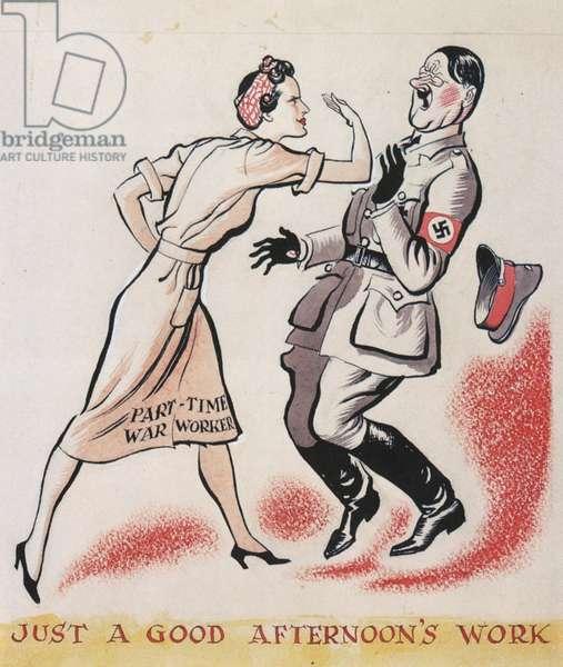 Propaganda Poster, UK, 1940s
