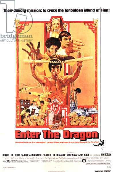 Enter the Dragon, Film poster, USA, 1970s