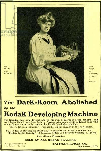 Kodak Poster, USA, 1900s