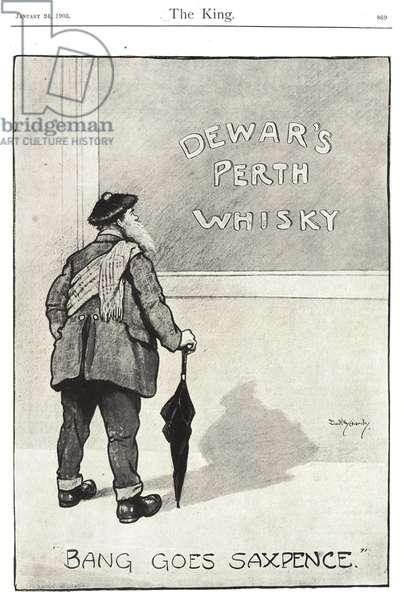 Dewar's Magazine, advert, UK, 1900s