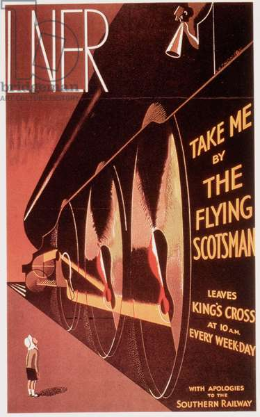 trains the flying scotsman lner