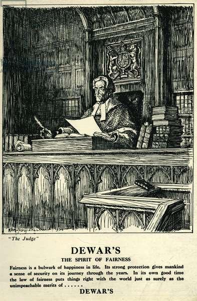 Dewars Magazine Advert, UK, 1920s