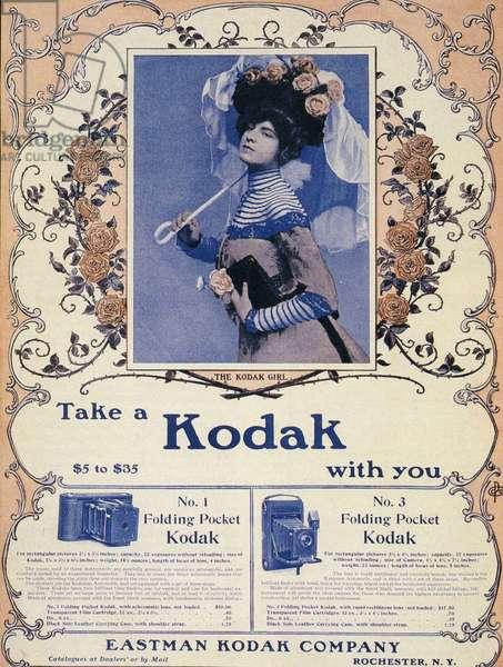 Kodak, Magazine Plate, USA, 1900s