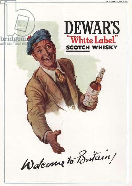 Dewar's Magazine, advert, UK, 1950s