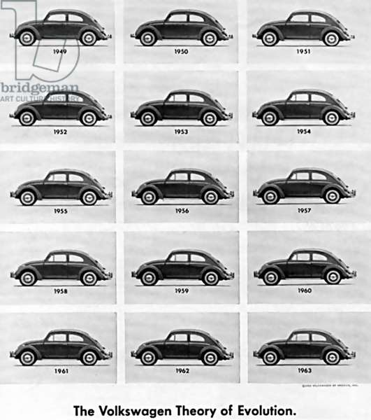 Volkswagen VW Magazine Advert, USA, 1960s
