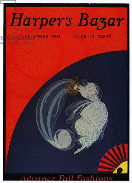 Harper's Bazaar Magazine Cover, USA, 1920s