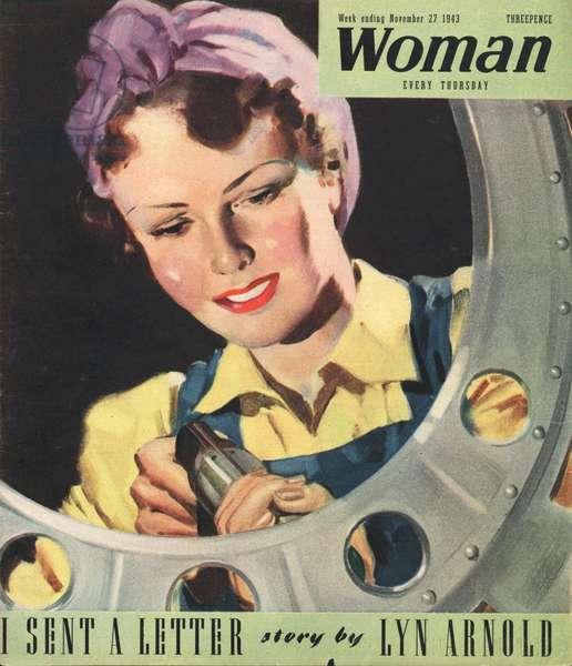 Woman Magazine Cover, UK, 1940s