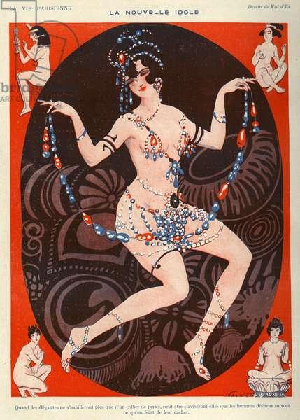 La Vie Parisienne Magazine Plate, France, 1920s