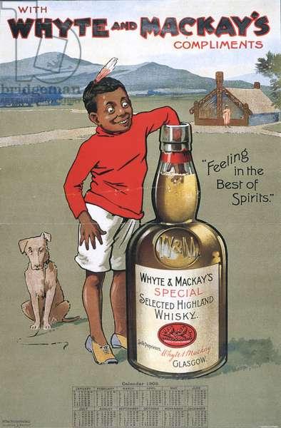 Whyte and Mackay's mackays Magazine, advert, UK, 1900s