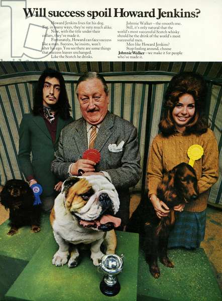 Johnnie Walker Magazine Advert, UK, 1970s