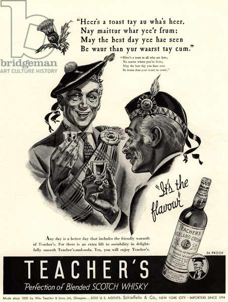 Teacher's Magazine, advert, USA, 1930s