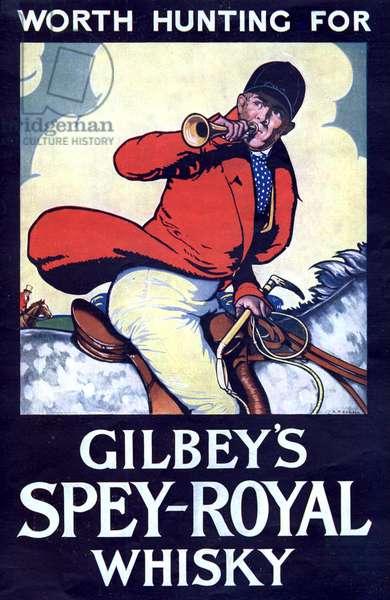 Gilbey's Magazine, advert, UK, 1940s