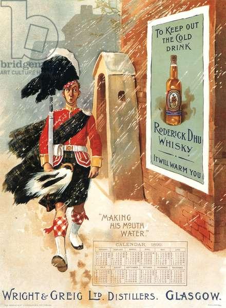 Roderick Dhu Magazine, advert, UK, 1890s