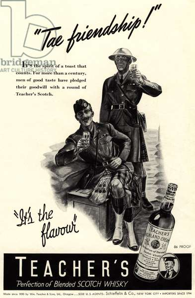 Teacher's Magazine, advert, USA, 1940s