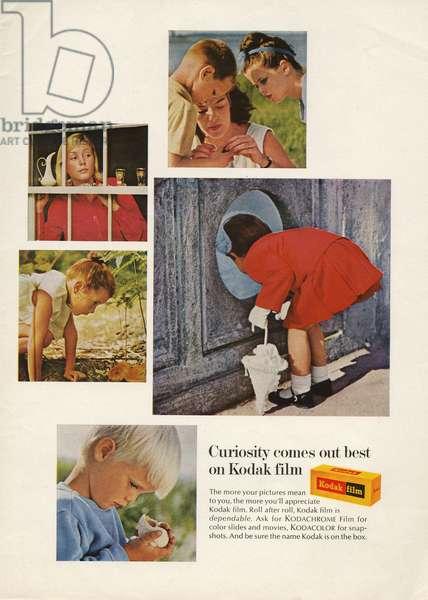 Kodak Magazine Advert, USA, 1970s