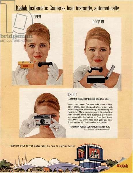 Kodak Magazine, advert, USA, 1960s