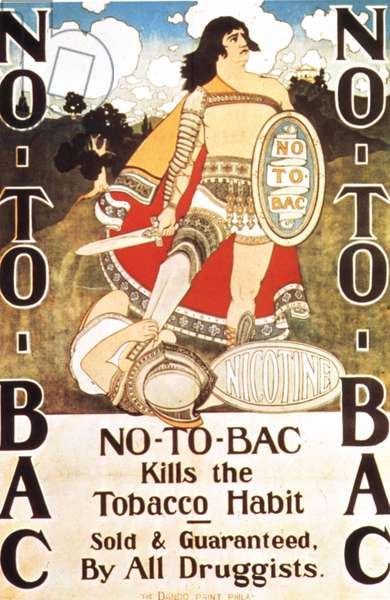 no-to-bac medicine cures poster, 1910s (lithograph)