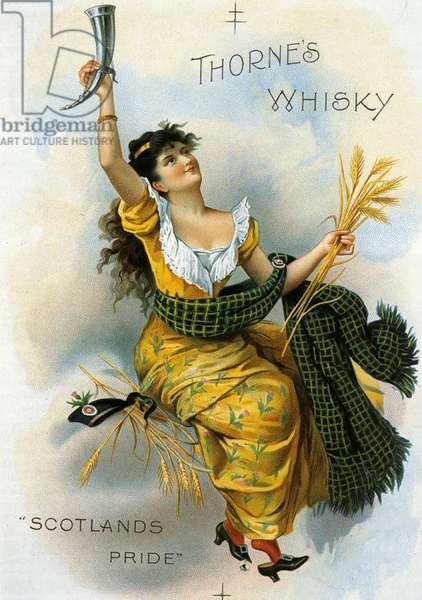Thorne's Whisky Poster, UK, 1890s