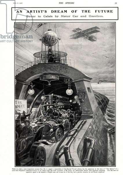 Dover-Calais Crossing Magazine Plate, UK, 1900s
