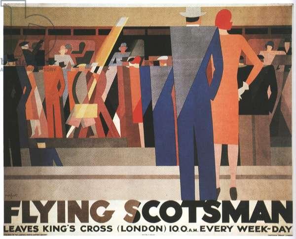 Flying Scotsman, poster, UK, 1920s