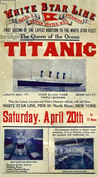 White Star Line : Titanic