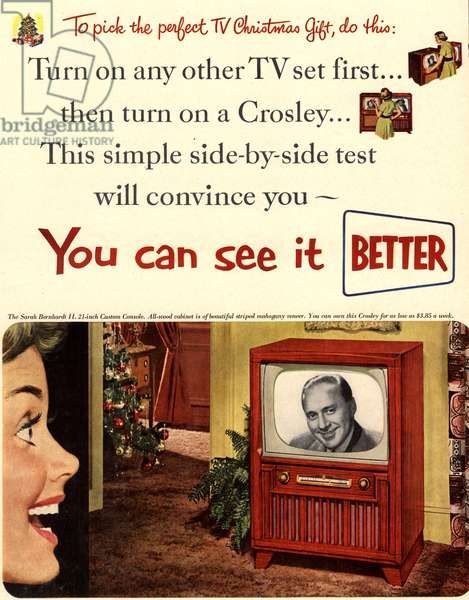 televisions crosley
