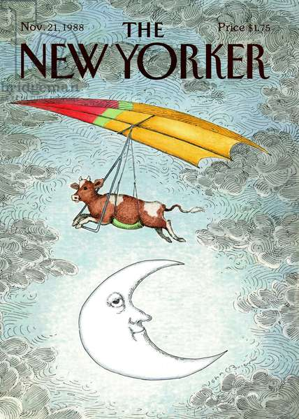 UK, The New Yorker Magazine Cover, 1988 (lithograph)