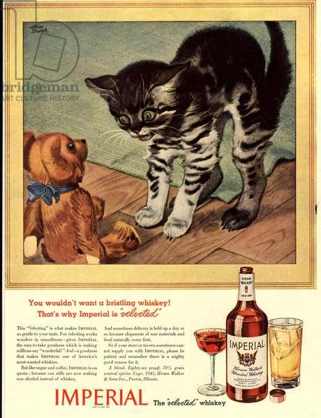 Imperial Whiskey Magazine, advert, USA, 1930s