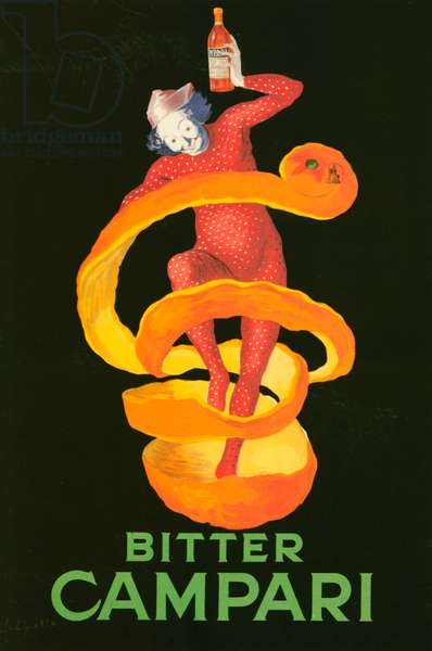 Poster advertising 'Campari', 1921 (colour litho)