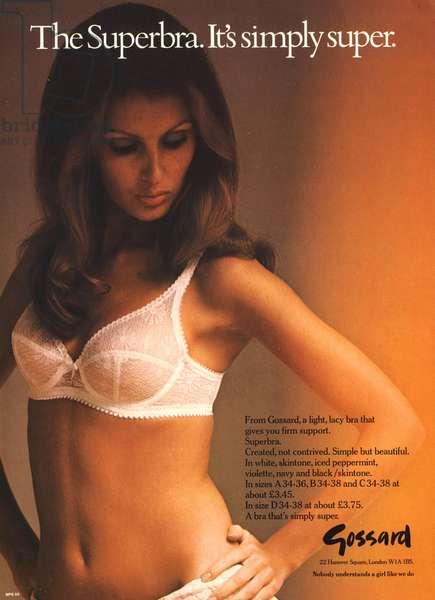Gossard Magazine, advert, UK, 1970s