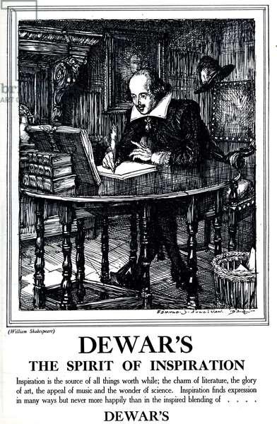 Dewar's Magazine Advert, UK, 1920s