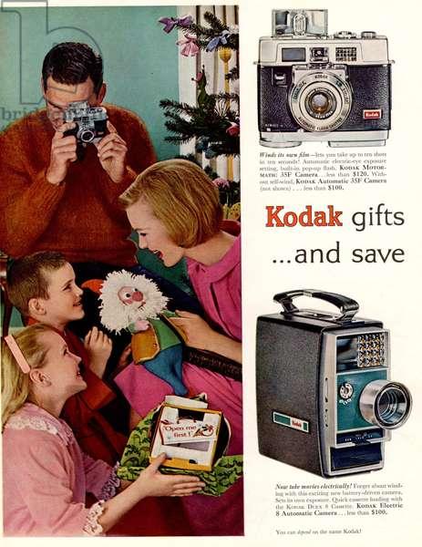 Kodak Magazine, advert, USA, 1950s